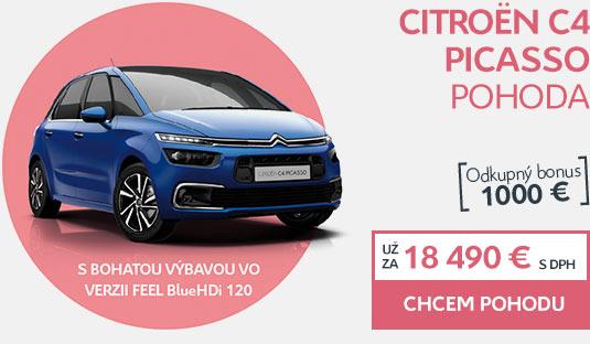 Citroën C4 PICASSO POHODA