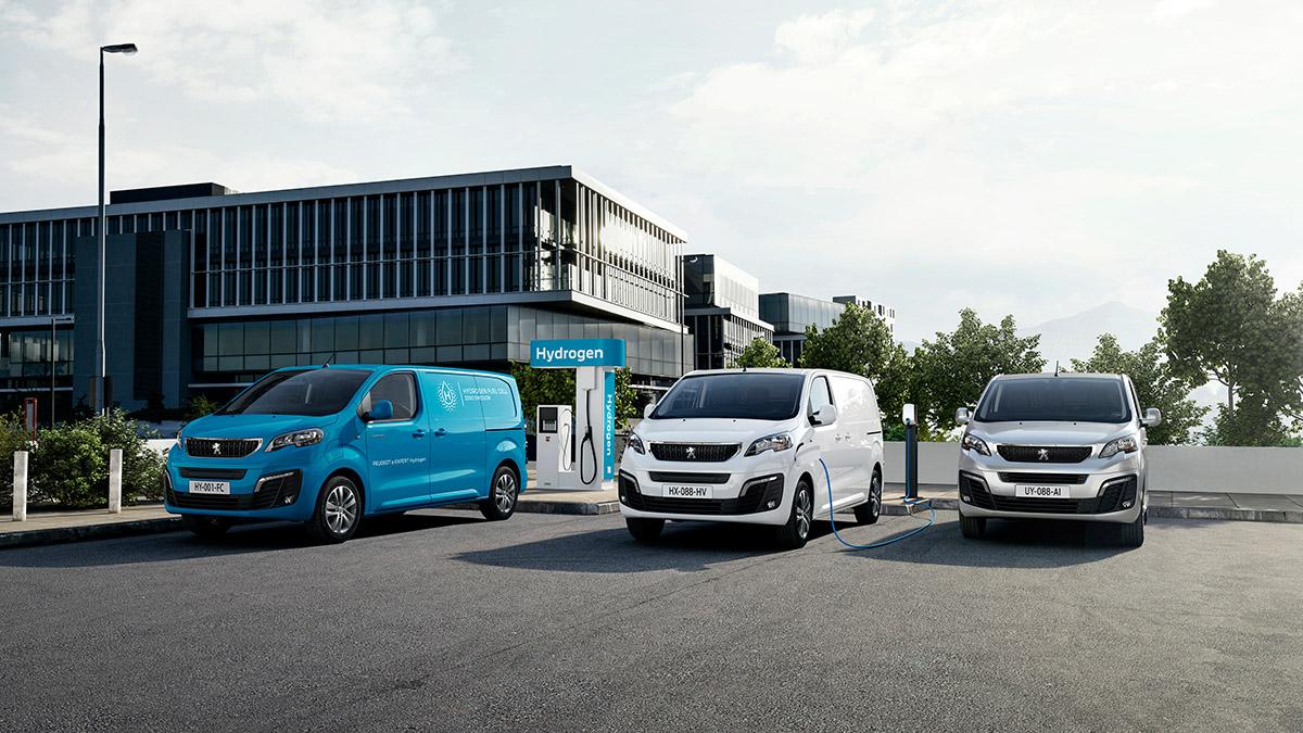 Nový PEUGEOT e-EXPERT Hydrogen ďalším rozšírením ponuky mobility