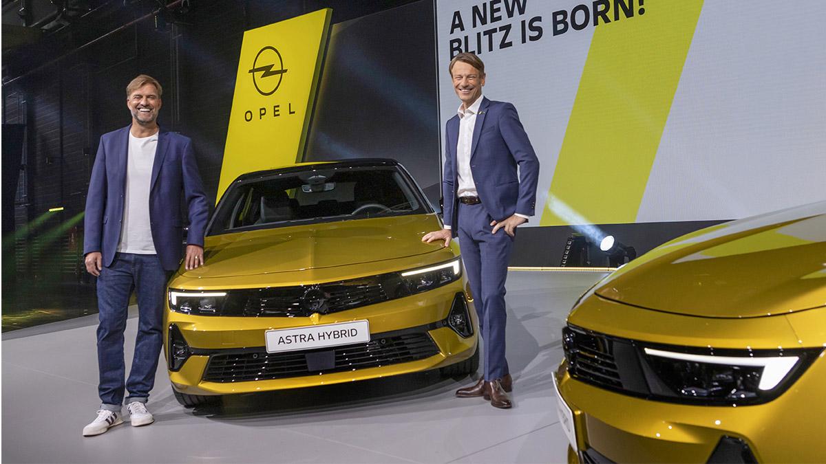 Nový plug-in hybrid model Astra