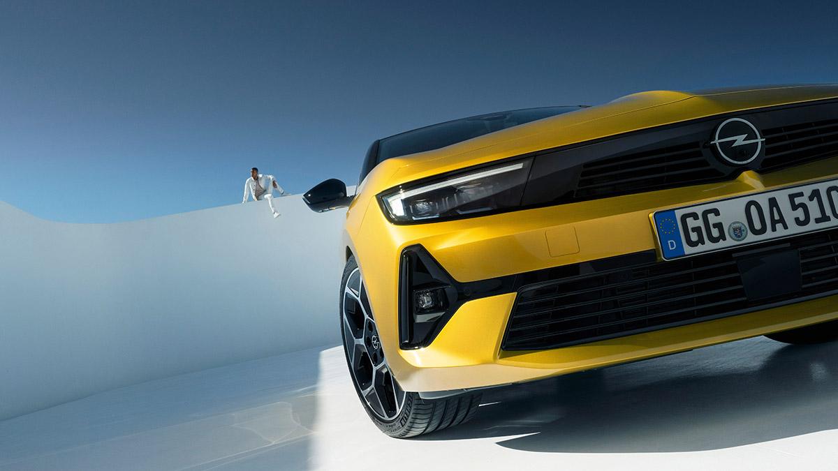 Nová tvár značky Opel Vizor