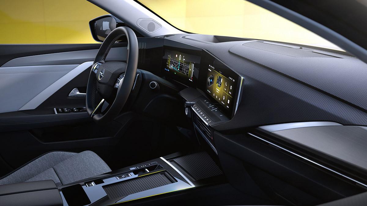 Interiér novej generácie modelu Astra