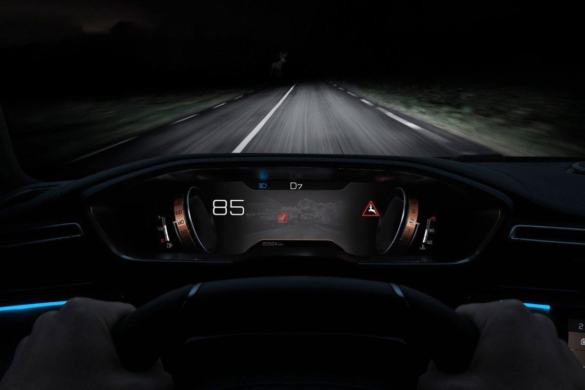 Nočné videnie do auta