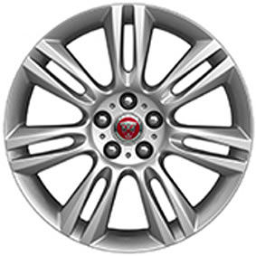 "18"" STYLE 7009, 7 SPLIT-SPOKE, SILVER"