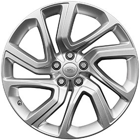 "21"" STYLE 5085, 5 SPLIT-SPOKE, SILVER"