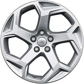 "20"" STYLE 5084, 5 SPLIT-SPOKE, SILVER"