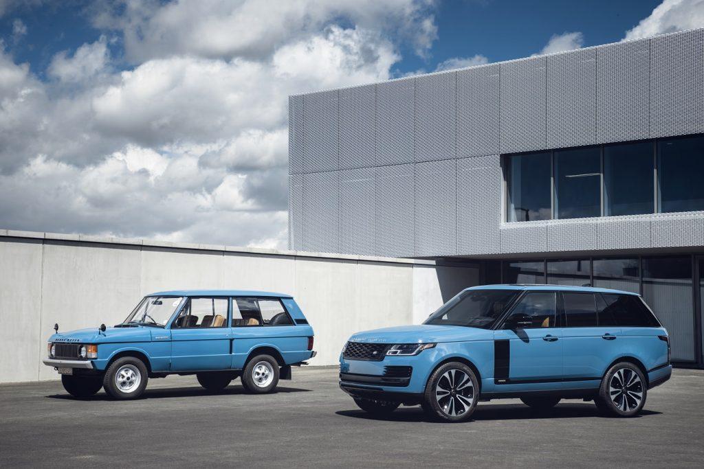 Ikonický Range Rover oslavuje okrúhlu 50-tku