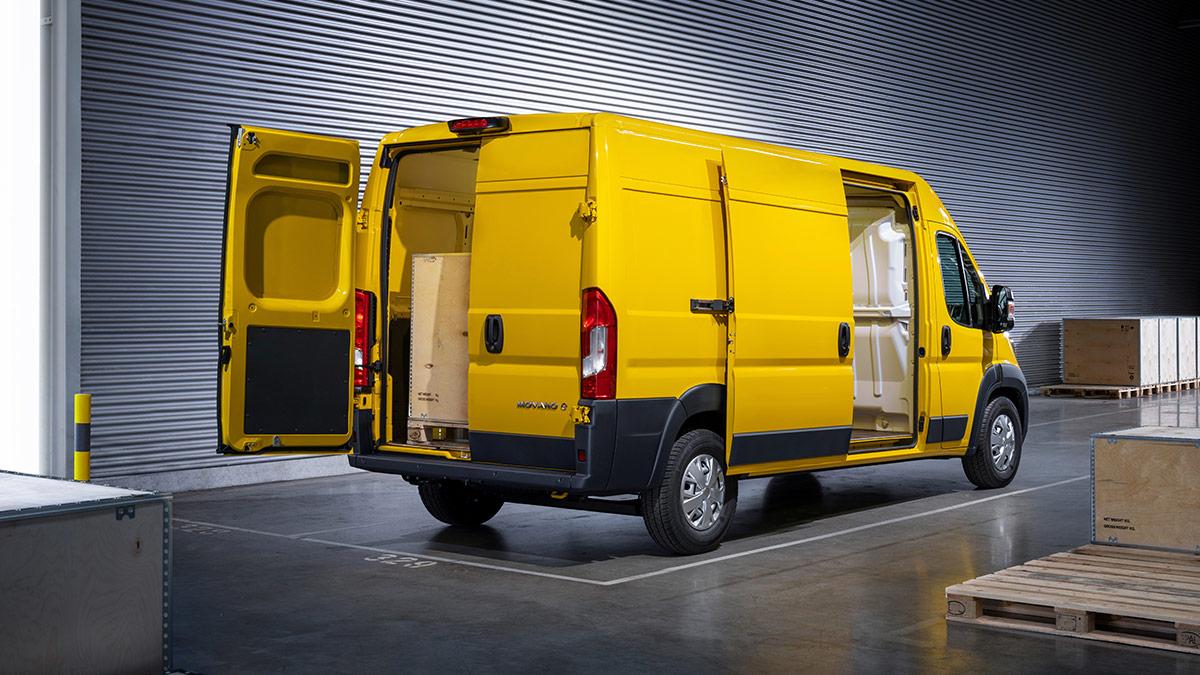 Nový Opel Movano je pripravený na každú úlohu v oblasti prepravy