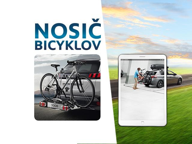 Nosiče bicyklov od 45 EUR