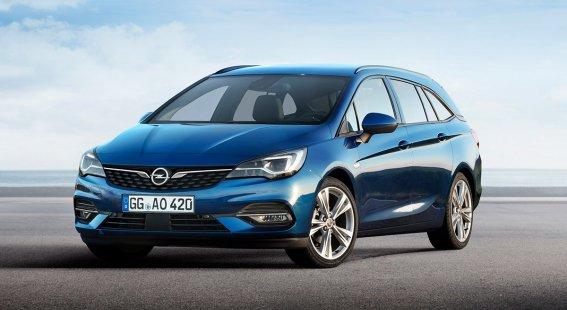 Nový Opel Astra ST