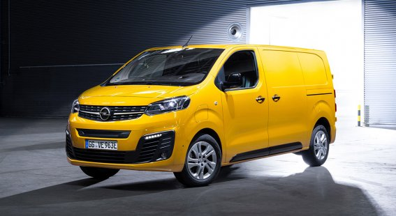 Nový Opel Vivaro-e