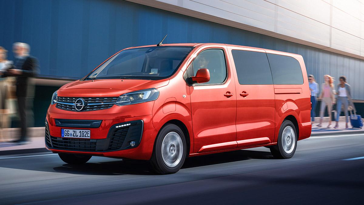 Nový Opel Zafira-e Life
