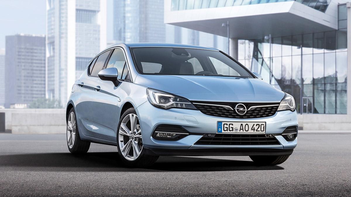 Nový Opel Astra