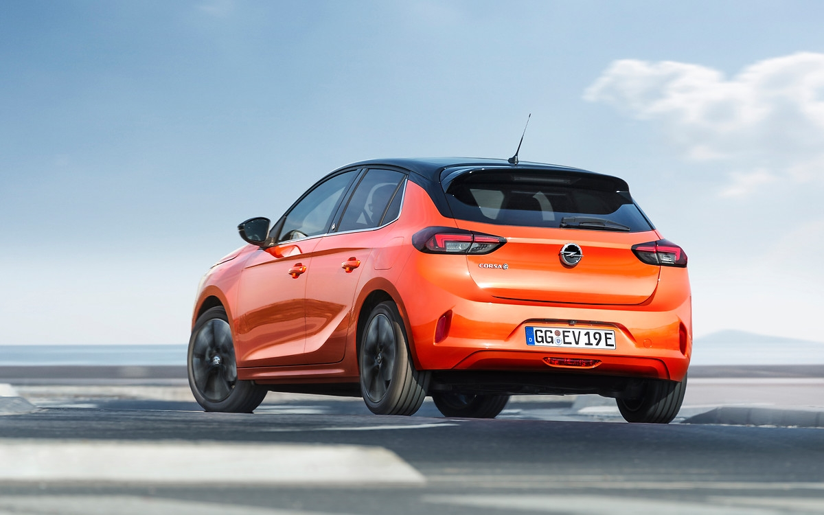 Nový Opel Corsa-e