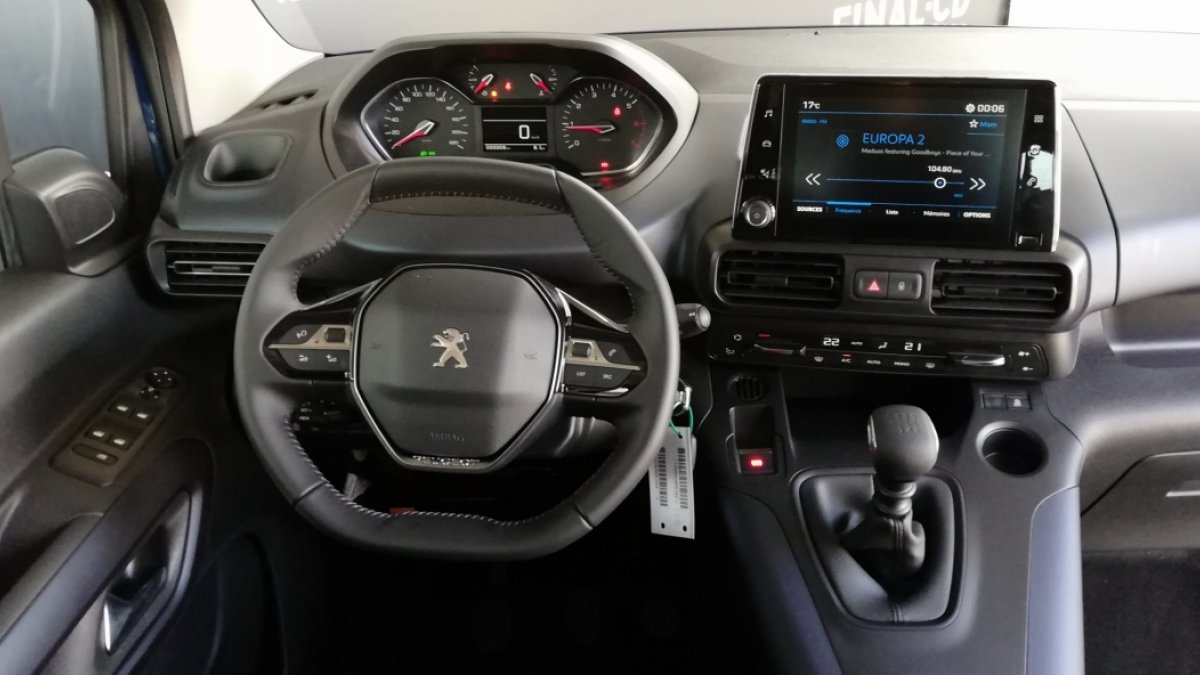 Peugeot Rifter 1,5 BlueHDi Allure 130k