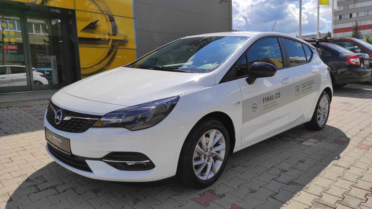 Opel Astra NEW 1,2 Turbo Edition Smile MT6