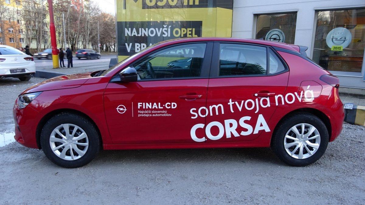 Opel Corsa NEW 1,2 Edition MT5