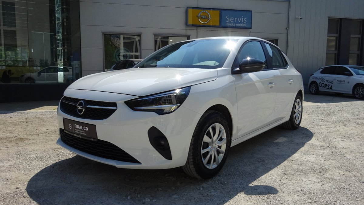 Opel Corsa NEW 1,2 Edition MT5 S/S