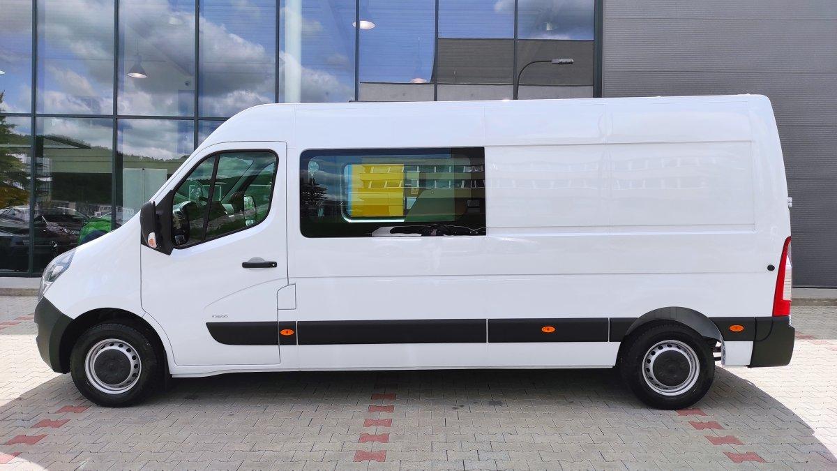 Opel Movano NEW 2.3 CDTI L3H2 Crew Van MT6