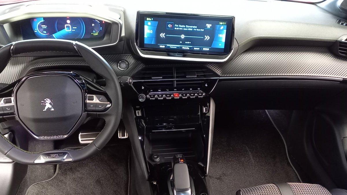 Peugeot 208 NEW Elektrický  GT 50 kWh