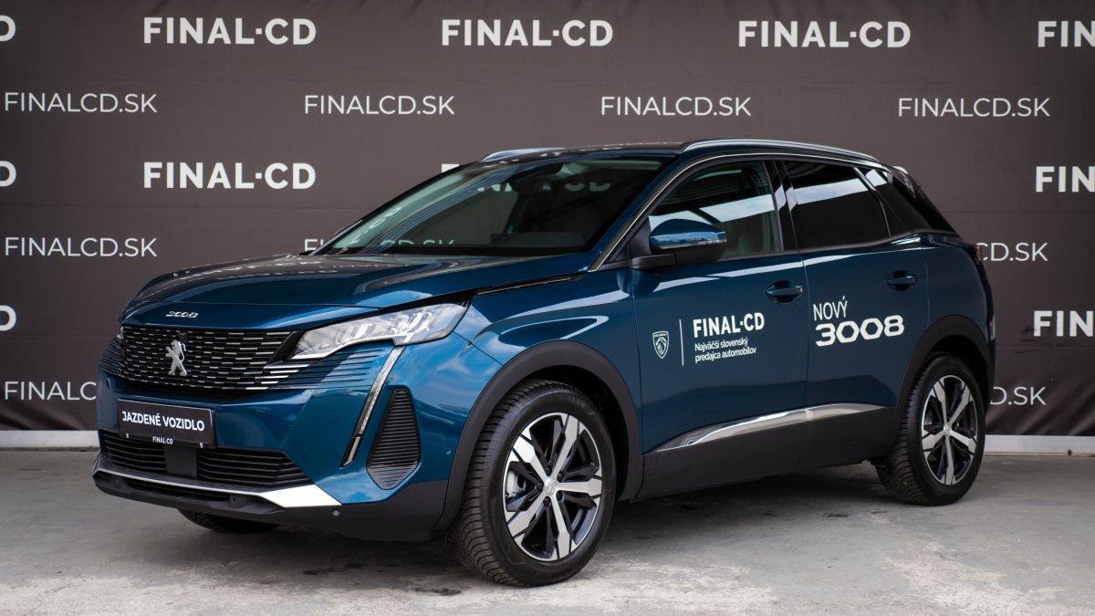 Peugeot 3008 1,5 BlueHDi NEW ALLURE PACK 130k EAT8 (EURO 6d-ISC-FCM)