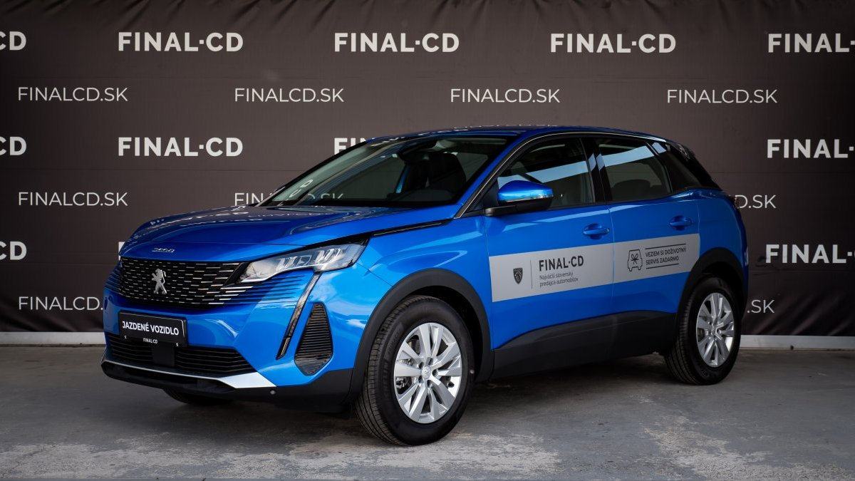 Peugeot 3008 NEW 1,5 BlueHDi NEW ACTIVE PACK 130k BVM6