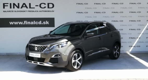 Peugeot 3008 1,5 BlueHDi ALLURE 130k EAT8 (EURO 6.2)