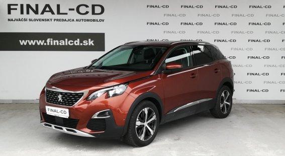 Peugeot 3008 1,6 BlueHDi ALLURE 120k AT6