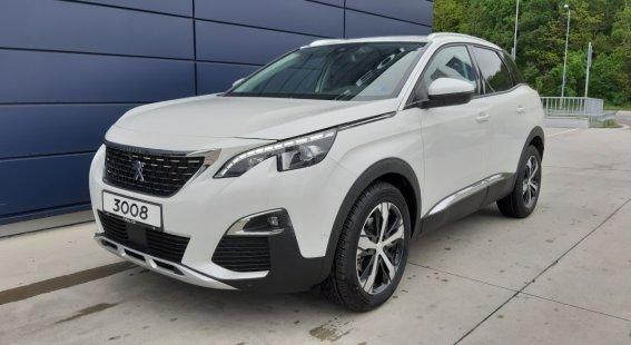 Peugeot 3008 1.6 PureTech ALLURE  180k EAT8 (EURO 6.2)