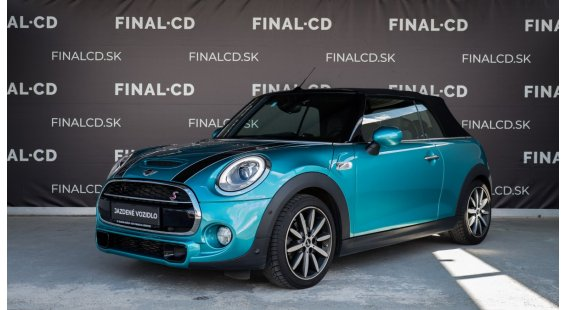 Mini Cooper 2,0 Turbo S Cabrio 192k