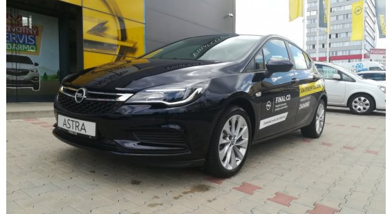 Opel Astra 1,4 Turbo Smile MT6