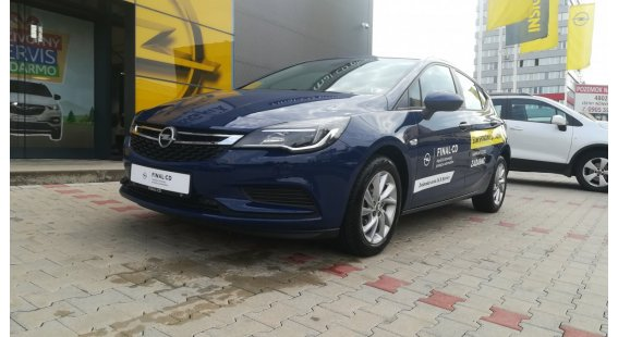 Opel Astra 1,4 Turbo Smile MT6 Start/Stop