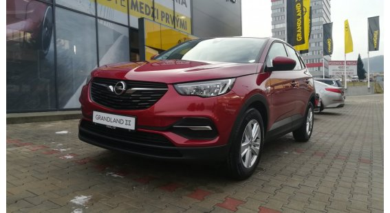 Opel Grandland X 1,2 Turbo Selection MT6 Start/Stop