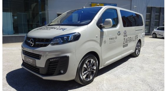 Opel Zafira Life NEW 2,0 CDTi Elegance L2H1 AT8