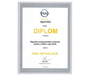 Opel najvyšší nárast predaja a trhového podielu v ČR a SR za rok 2016