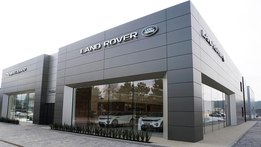 Jaguar a Land Rover v Žiline