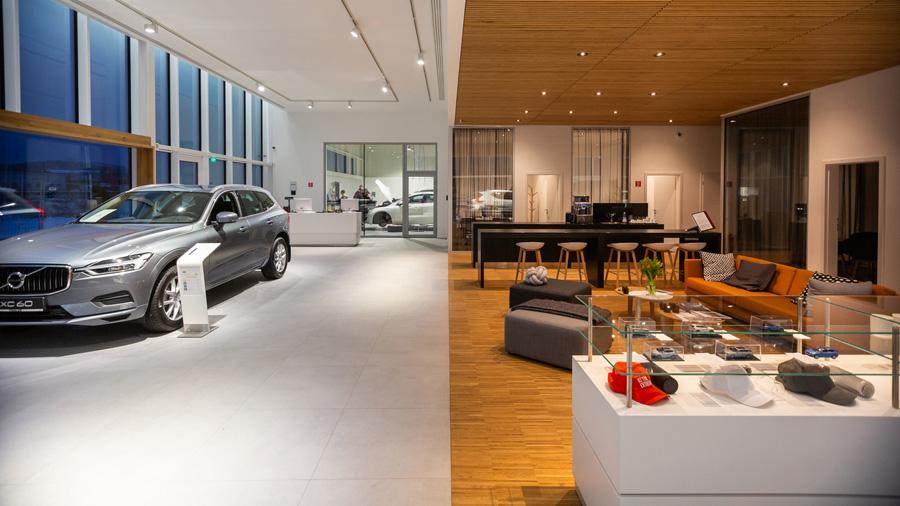 Nový showroom Volvo v Žiline
