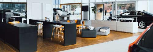 VOLVO obývačka